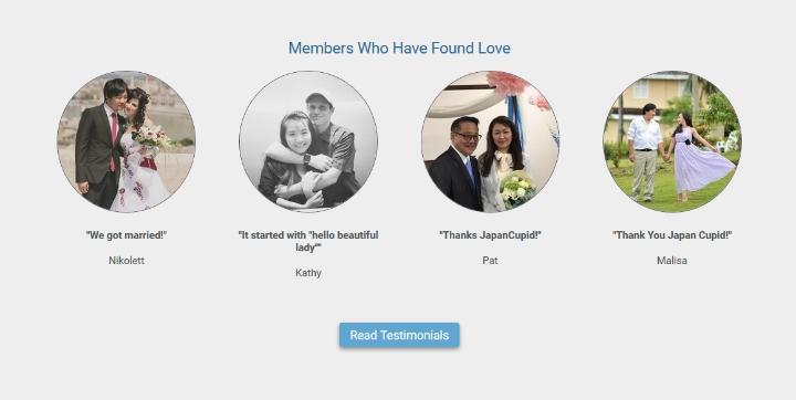 JapanCupid.com testimonials