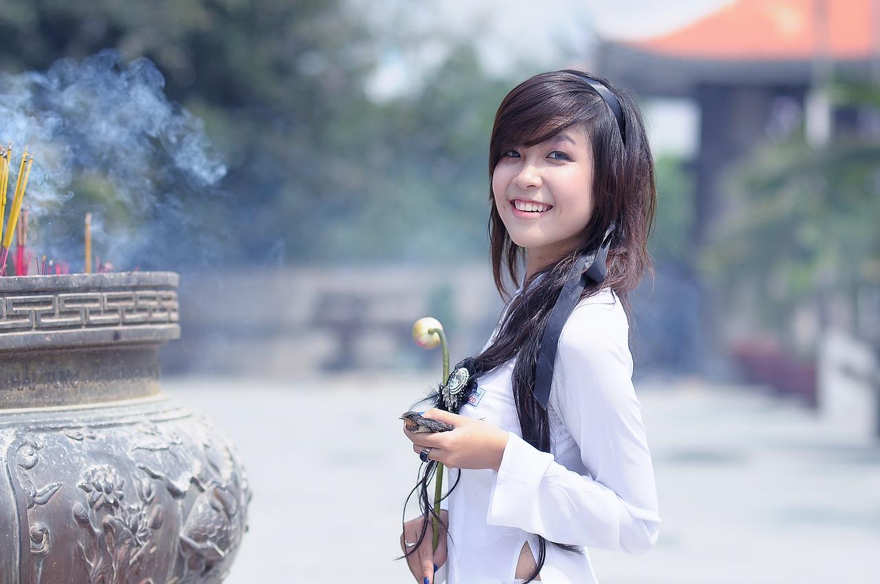 sensual Korean girl