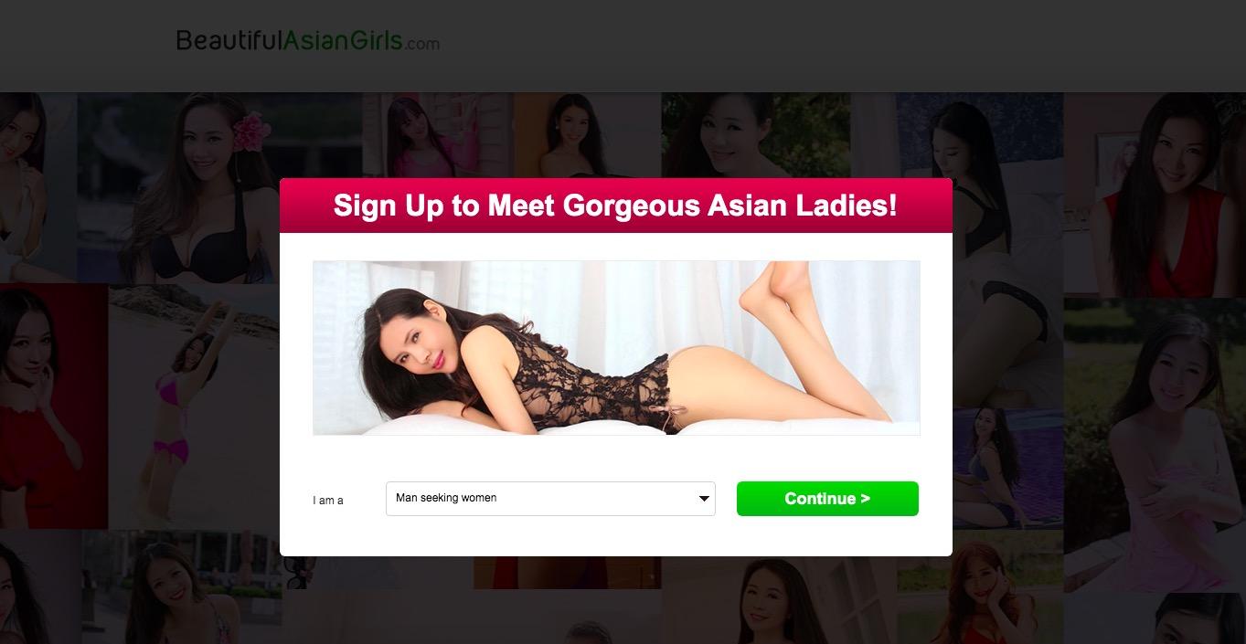 BeautifulAsianGirls main page