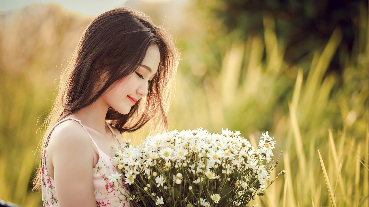tender asian girl