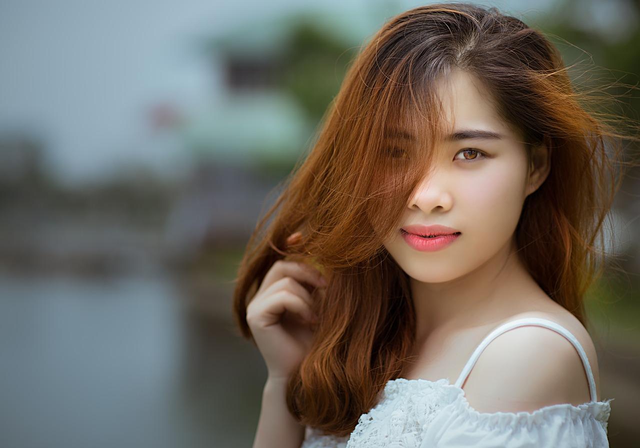beautiful Japanese young woman